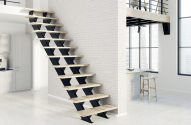 Schody metalowe dla domu i mieszkania